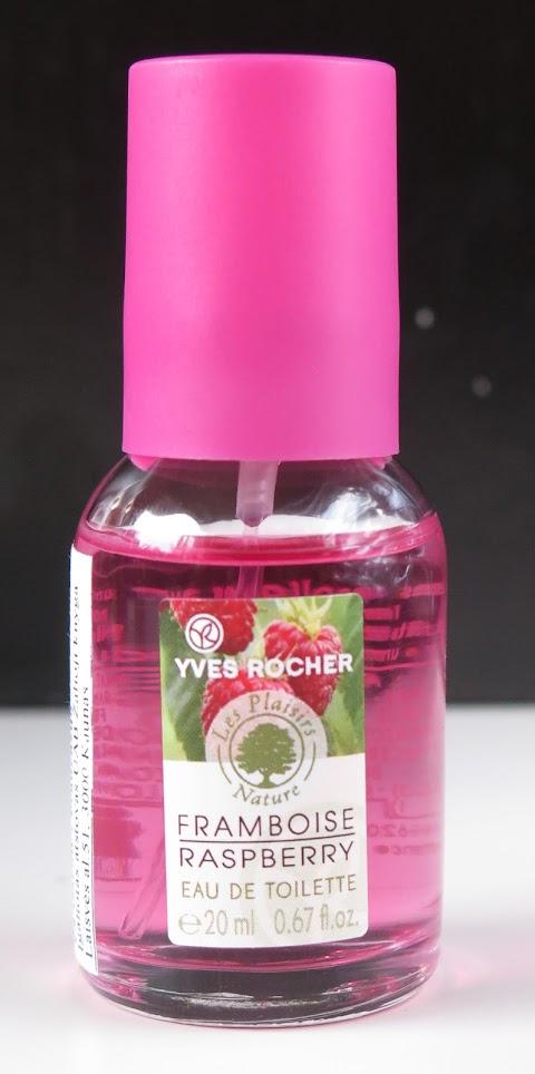 Yves rocher Framboise raspberry tuoletinis vanduo