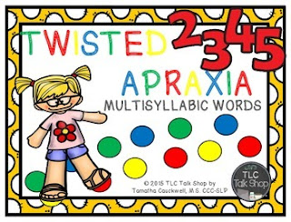 https://www.teacherspayteachers.com/Product/Twisted-Apraxia-Multisyllabic-Words-1993695