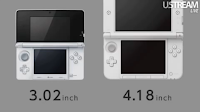 Nintendo 3DS LL Size Measurement