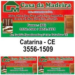 CASA DA MADEIRA - CATARINA - CE
