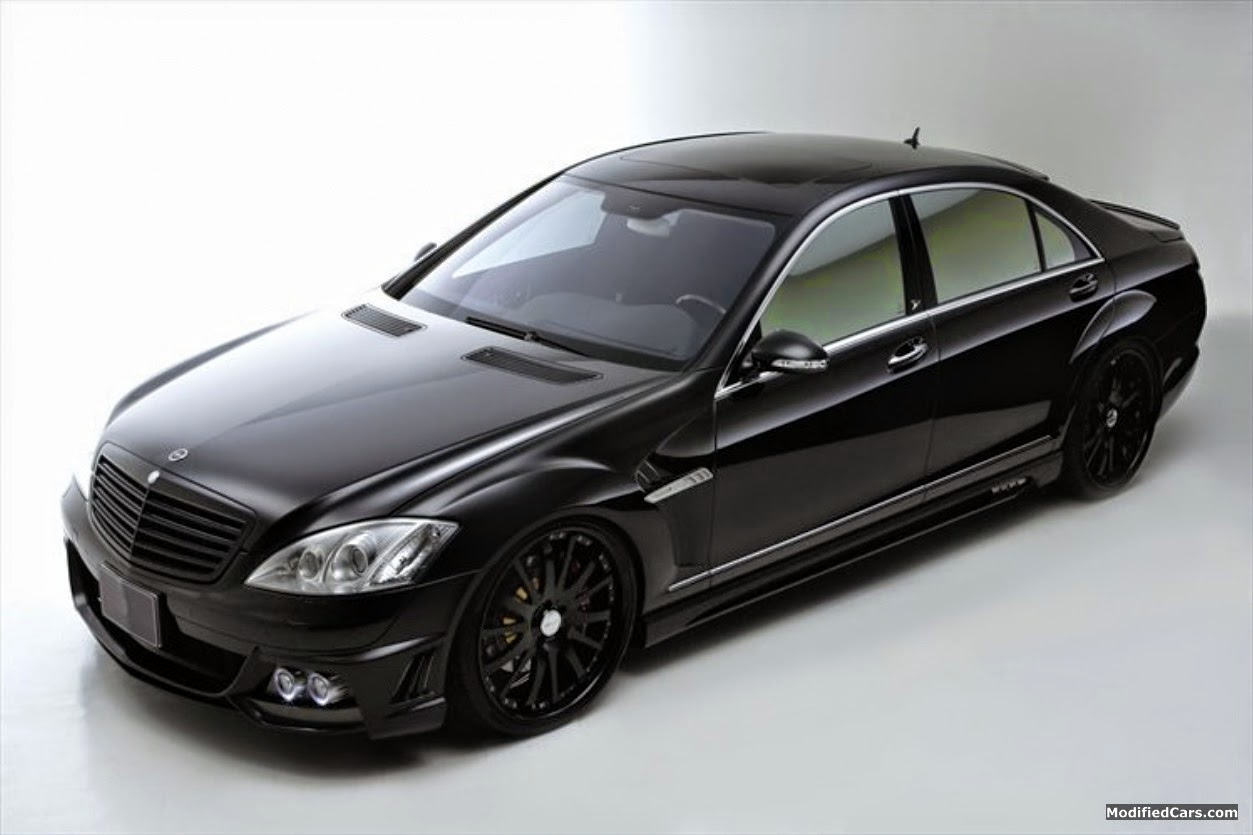 Mercedes benz s65 amg w221 black on black benztuning for Mercedes benz s65