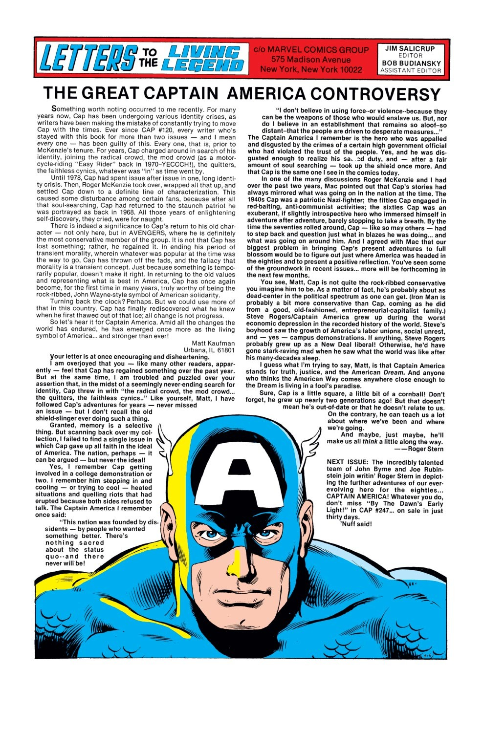 Captain America (1968) Issue #246 #161 - English 19