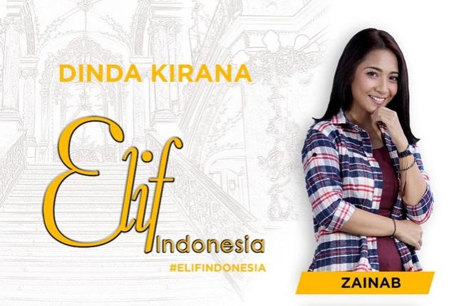 Biodata dan Foto Dinda Kirana Elif Indonesia