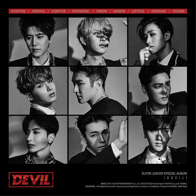 Super Junior Devil Font