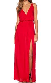 www.shein.com/Red-Deep-V-Neck-Split-Maxi-Dress-p-207052-cat-1727.html?aff_id=2687