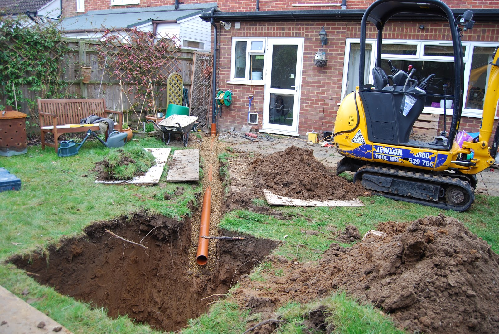 Beginner's Guide to Building a House Extension: Day 2 ...