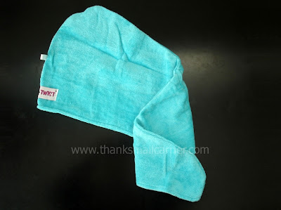absorbent hair towel