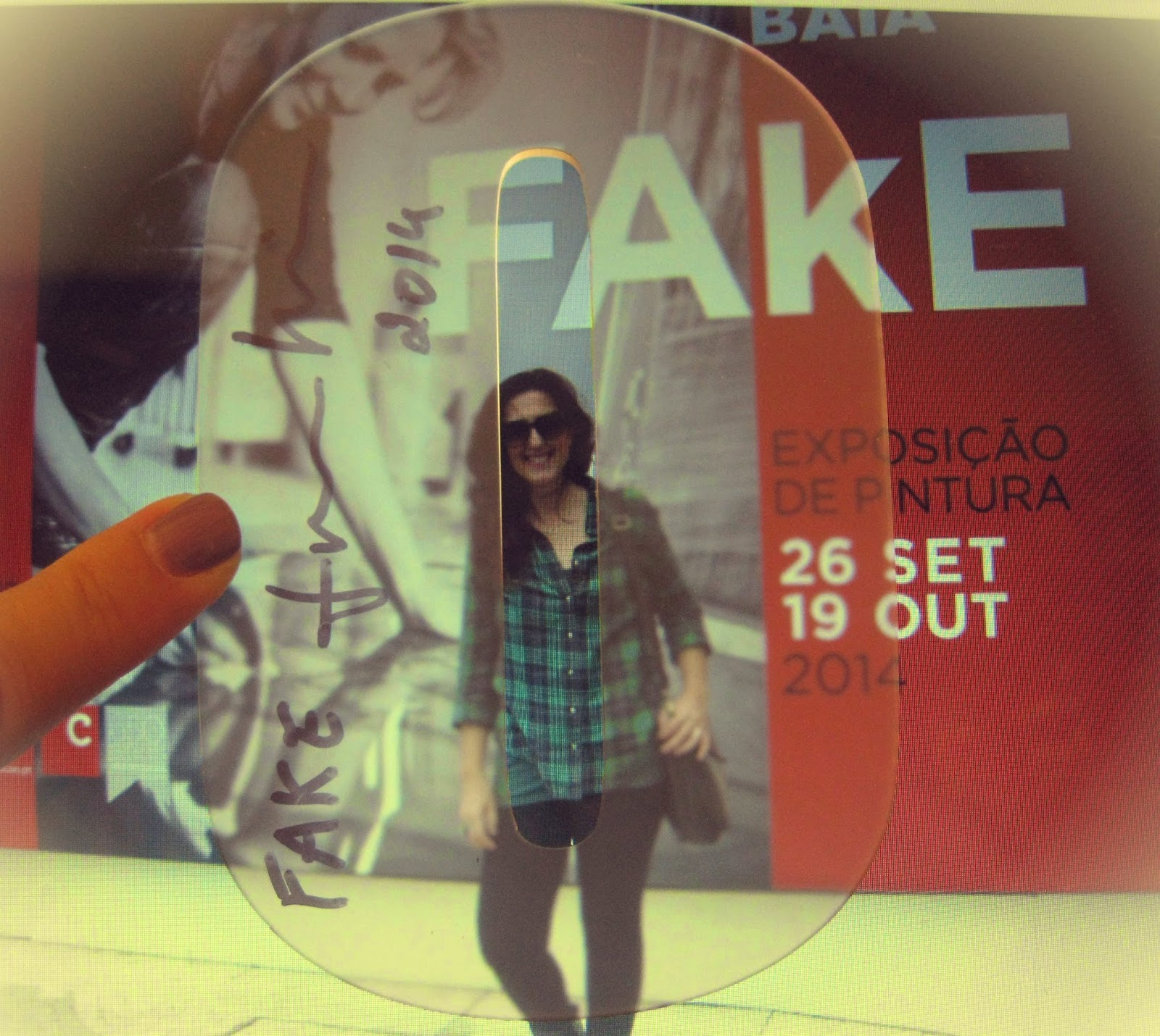 """Finalmente a visita à exposição """"FAkE"""""""