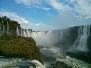 Devil's Throat in Iguazu Falls, Brazil by Mark Fitzgerald