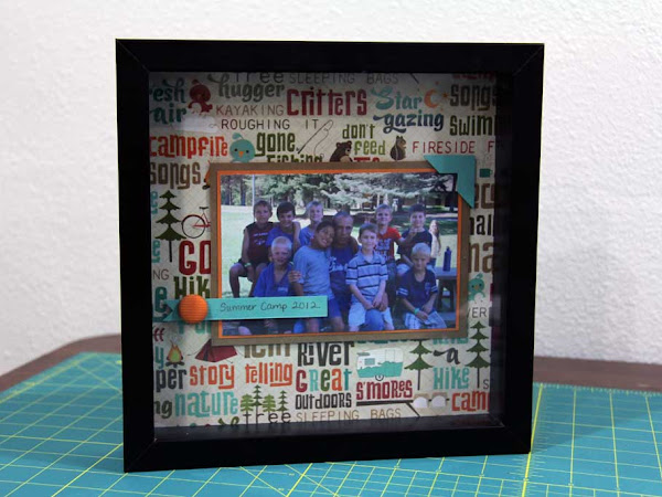 Summer Camp Picture Frame