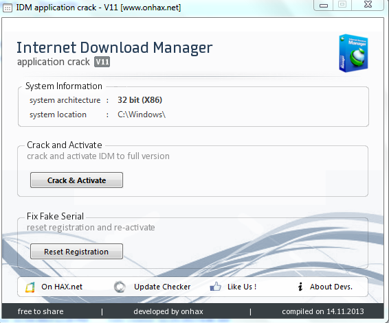 Internet Download Manager Serial Number - Free