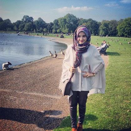 Hijab Cantik Ala Nuri Maulida Busana Muslim Murah Tattoo Design Bild