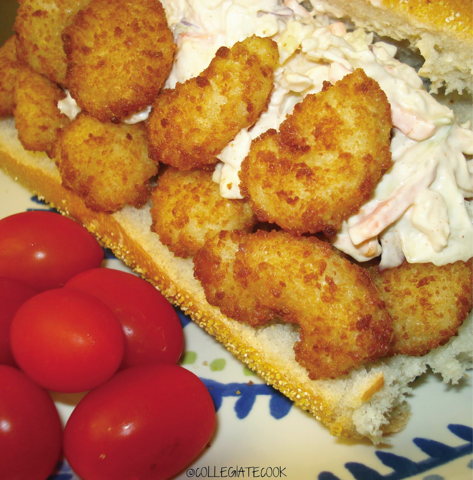 Popcorn Shrimp Mini Subs