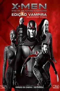 Capa X-Men Dias de um Futuro Esquecido Edição Vampira  Torrent Dublado