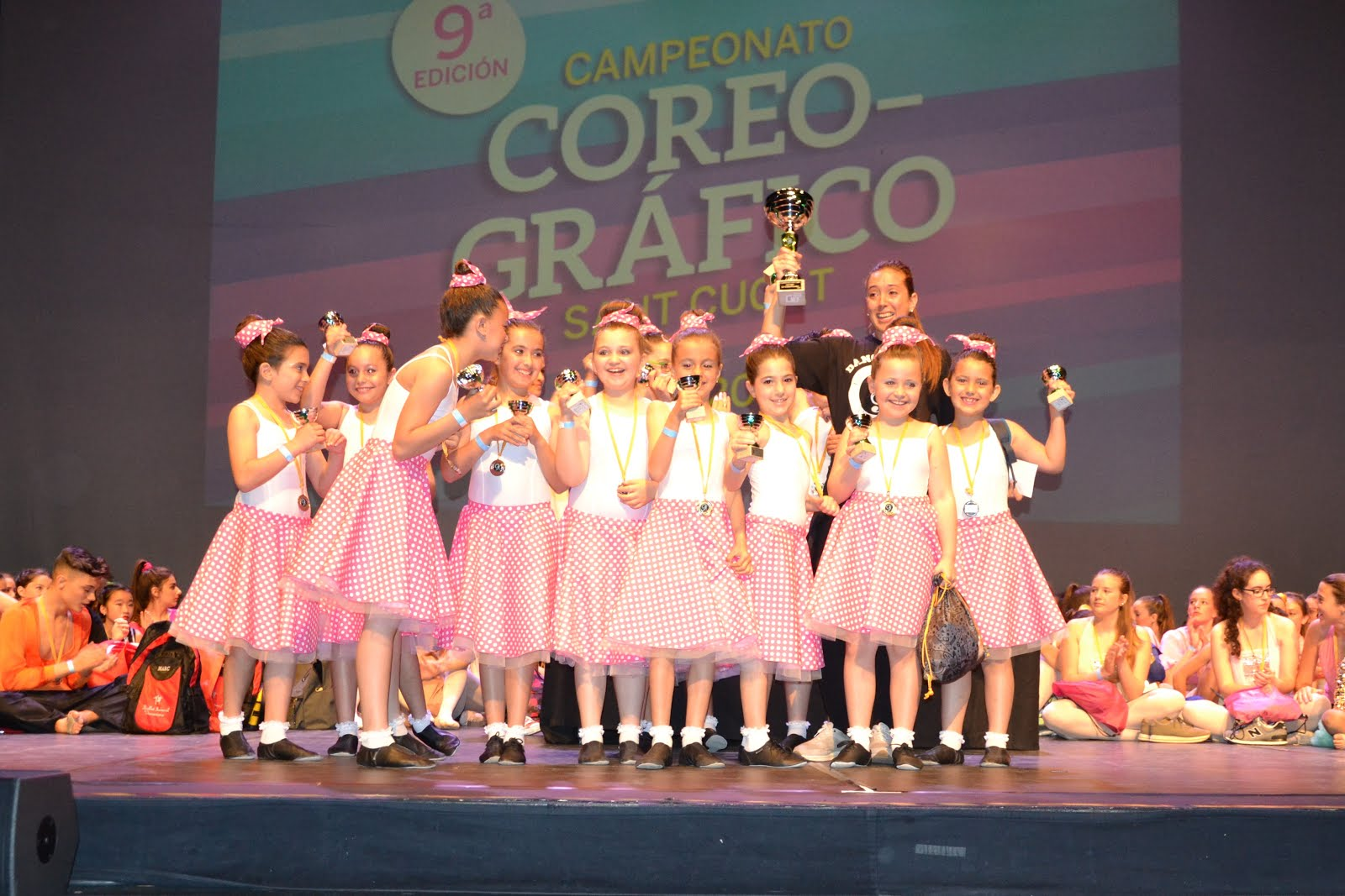 1er.PREMI. Jazz Categoria MINI.