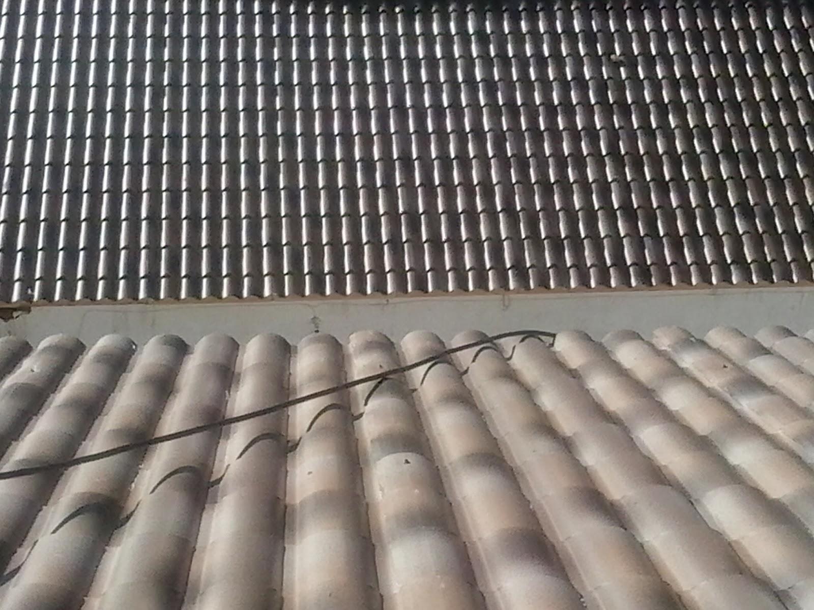 Arreglar tejado de chapa tejados de naves y locales en for Tejados de madera con teja