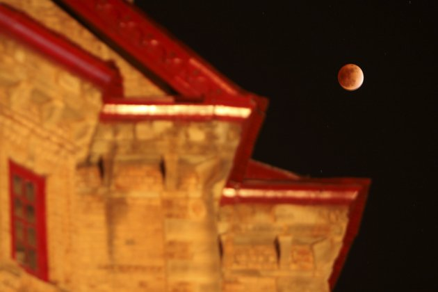 Lunar Eclipse around the world