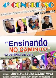 4º Congresso Brasileiro para Professores e Líderes do Ministério Infantil.