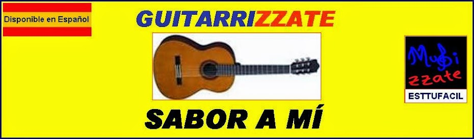 GUITARRA Sabor A MÍ