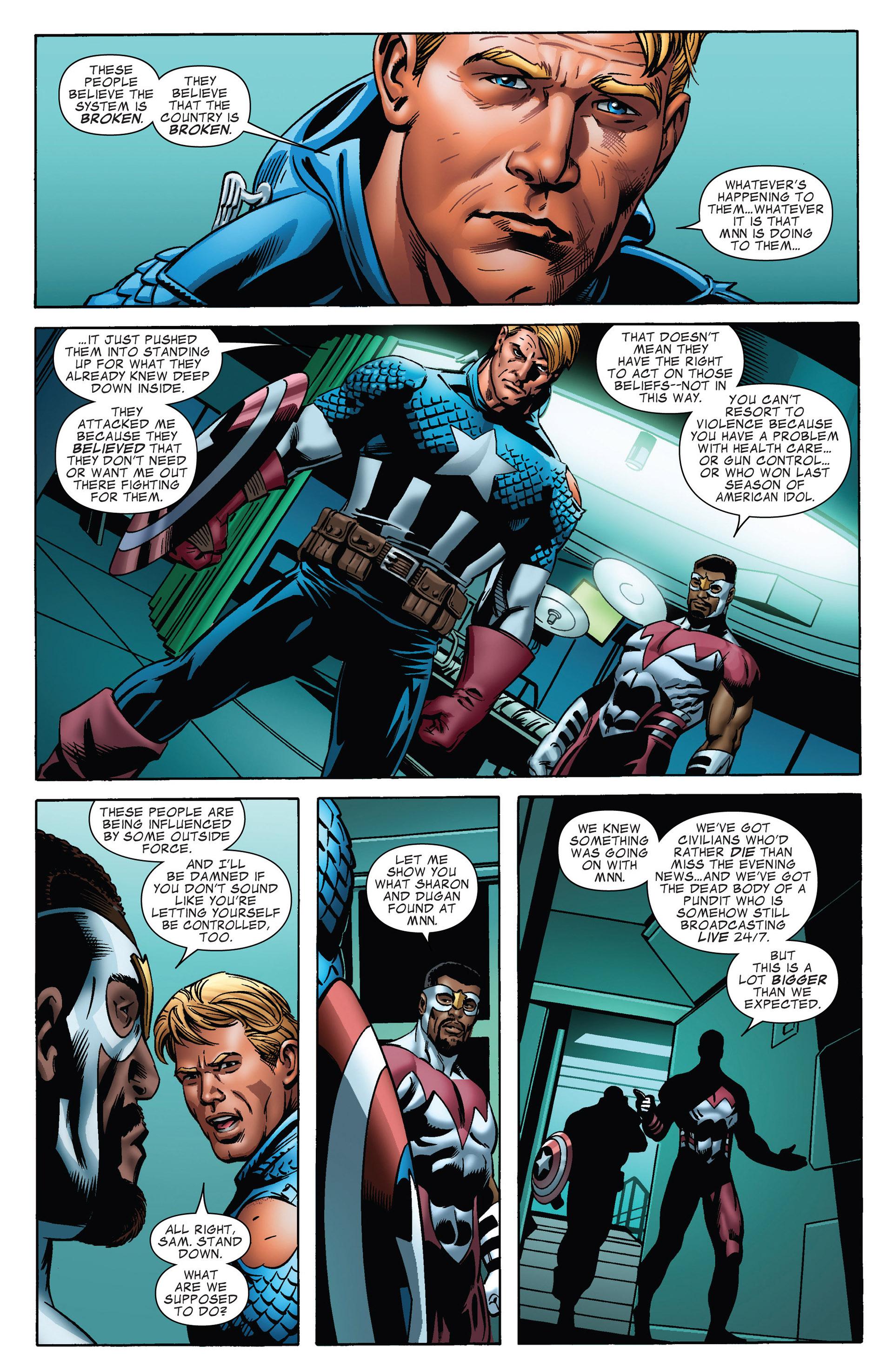 Captain America (2011) Issue #17 #17 - English 8