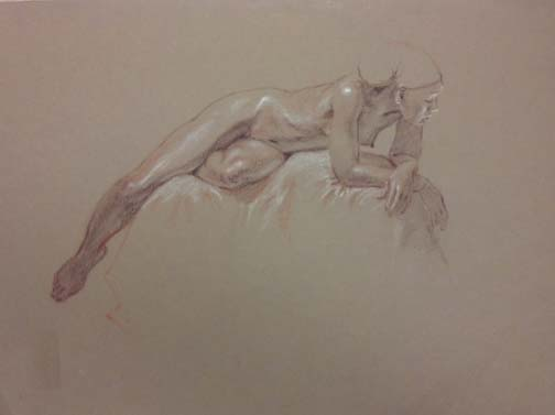 Nyack Center Figure Drawing we Had a Small Turnout