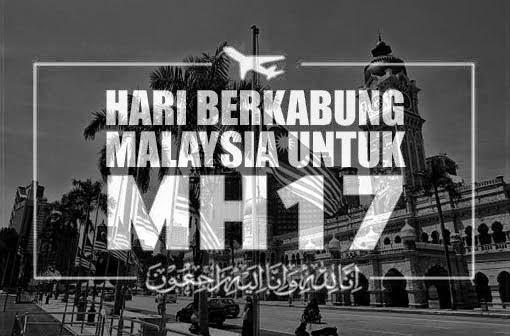 malaysia berkabung, mh17, hukum berkabung di sisi Islam