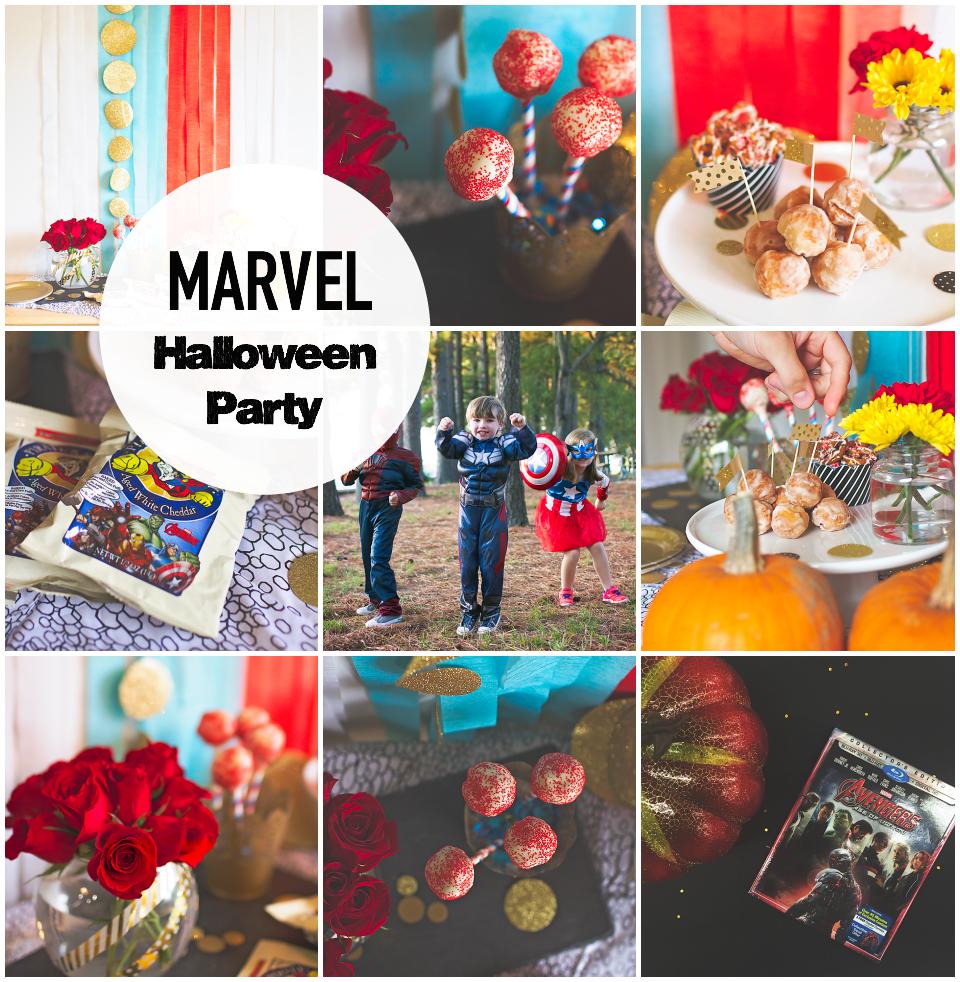 Superhero Halloween Party #AvengersUnite - Behind the Camera and ...