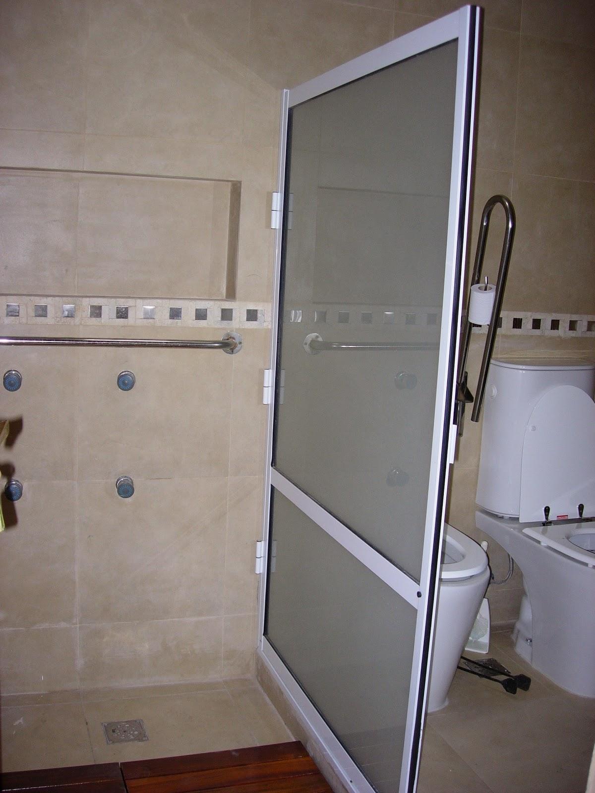 Via-Diseño (Carpintería de Aluminio): mampara para baño, yacussi y ...