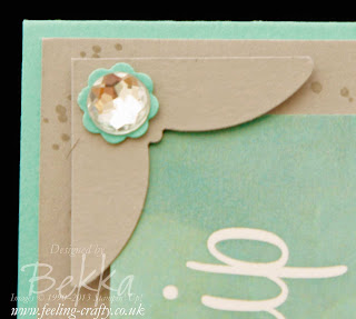 How to create beautiful photo corners using the Elegant Butterfly Punch from Stampin' Up! by UK Based Demonstrator Bekka Prideaux - check her blog for lots of other great tips