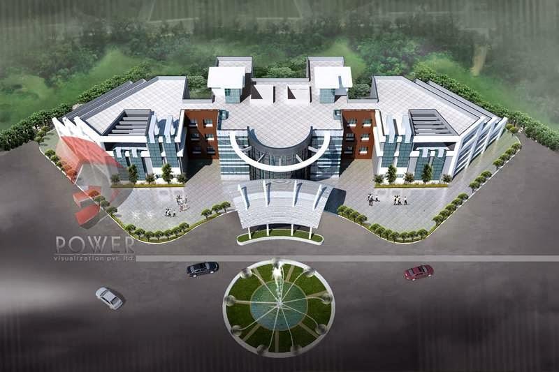 Modern Hospital Architecture Hospital Healthcare Design Hospital Building Desing 3d Rendering