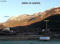 Vista de la Serra de Querol des del Camí Ral de La Coma. Autor: Ricard Badia