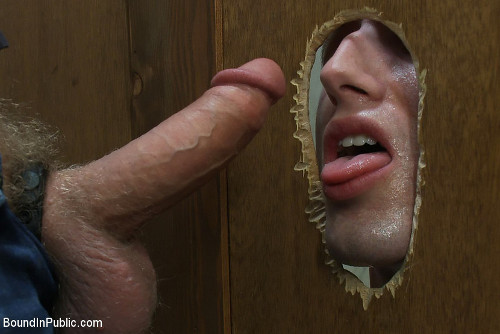 cock glory hole suck