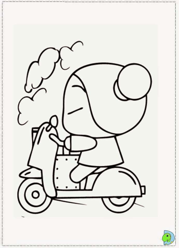 coloring pages of pucca - photo#23