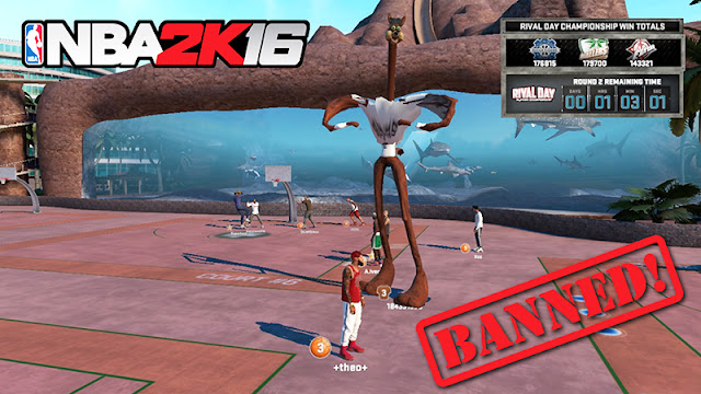 NBA 2K16 PC Cheats Steam Banned