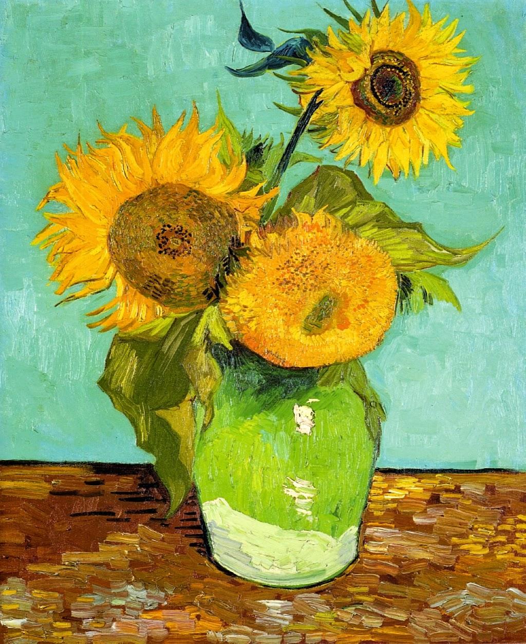 Polka Dot Parade Preschool Artist Study Vincent Van Gogh