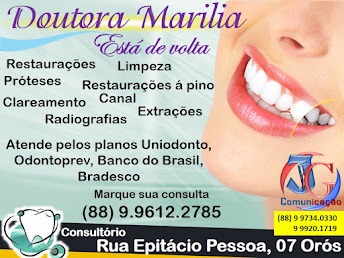 DRª MARILIA DENTISTA