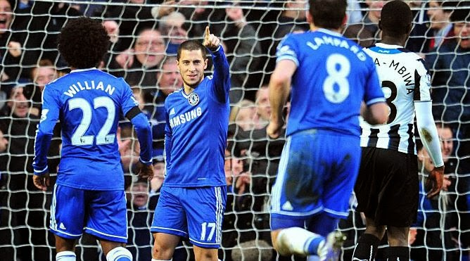 Chelsea 3-0 Newcastle United Premier League
