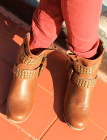 Outfit of the day studded boots www.likesopretty.com
