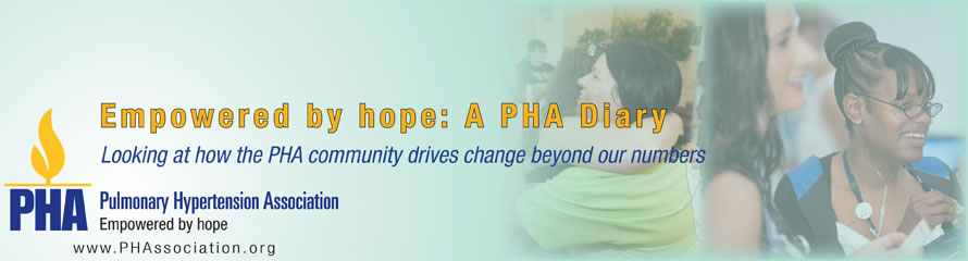 Empowered by hope: A PHA Diary