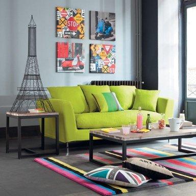 Colores decorando interiores page 2 - Sofas de colores ...