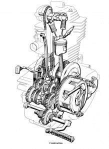 skema mesin CB