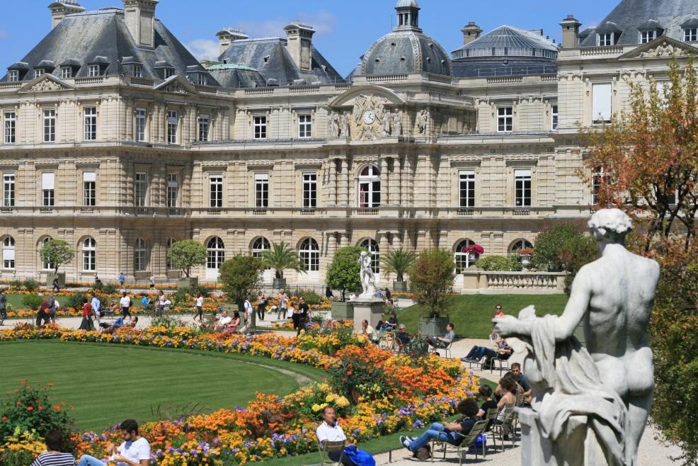 Un peu plus l 39 ouest une autre balade paris au jardin for Aller au jardin du luxembourg