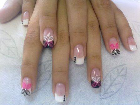 Use a polite, then you have a fabulous looking nails!