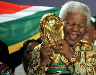 Nelson Mandela at the World Cup