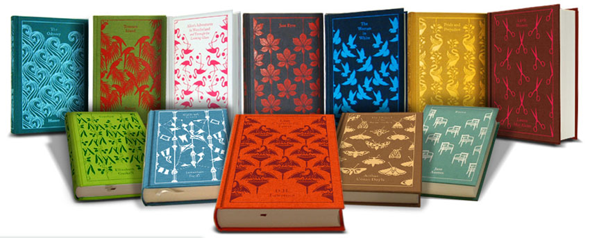 Penguin Modern Classics Book Covers : Fröken lila beautiful books