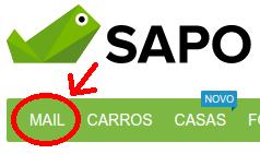 Como fazer um email grátis no SAPO