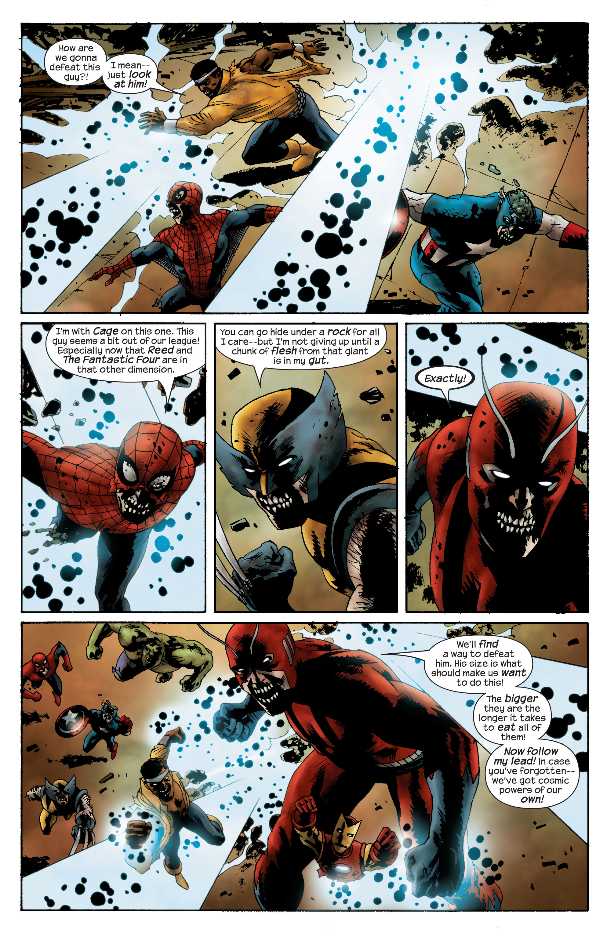 Marvel Zombies (2006) Issue #4 #4 - English 4