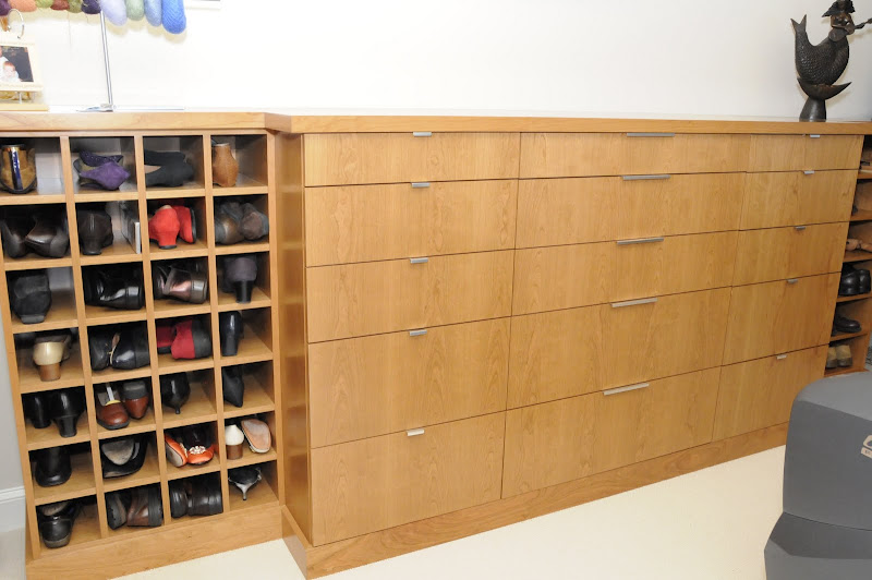 The first part of a great looking closet storage project. title=