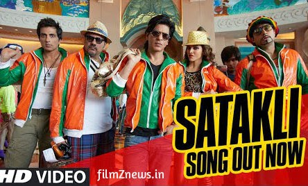 Satakli Video Song from Happy New Year (2014) Feat, Shah Rukh Khan, Sukhwinder Singh