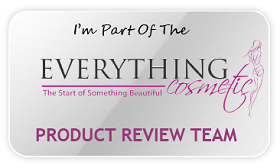 part of the Everything Cosmetic Product Review Team